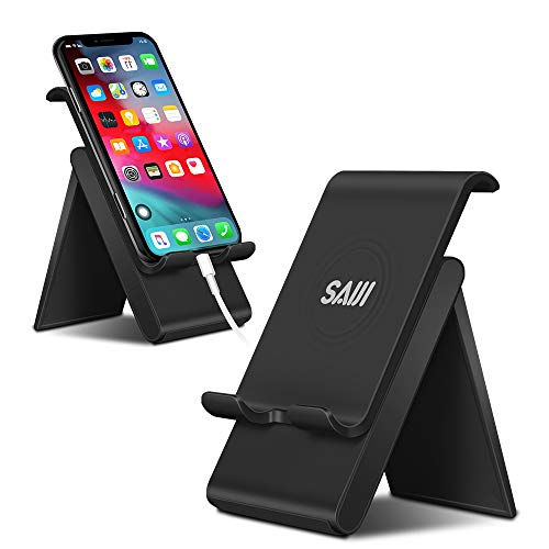 Everyday Is Halloween Tab (Adjustable Cell Phone Stand, SAIJI Phone Stand for Desk with Anti-Scratch and Charging Dock, Foldable Stand Compatible for ipad Tablet Smartphones -)