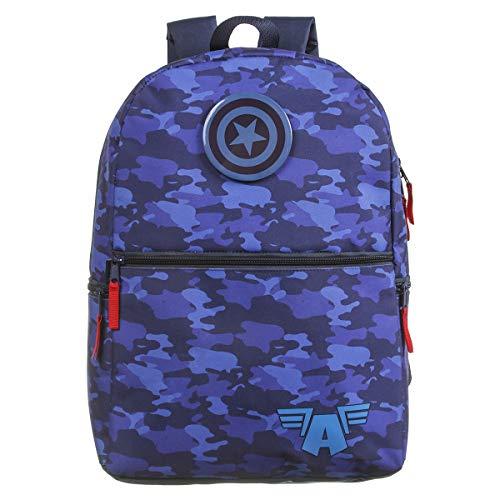 Mochila G, Marvel Capitão América, DMW Bags, 11805, Colorida