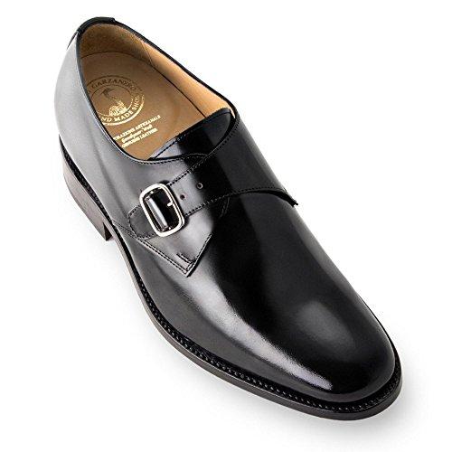 Masaltos Scarpe con Rialzo per Uomo Che Aumentano l'Altezza Fino a 7 cm. Fabbricate in Pelle. Modello Dallas Nero Aclaramiento Precio Más Bajo Cajón De Los Zapatos Ha8EOyk8