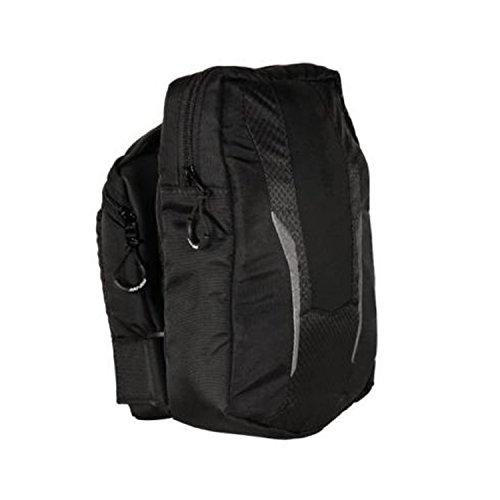 Black Snowmobiles (Ski-Doo New OEM Snowmobile Black Short Riserblock Bag Back Pack, 860201550)