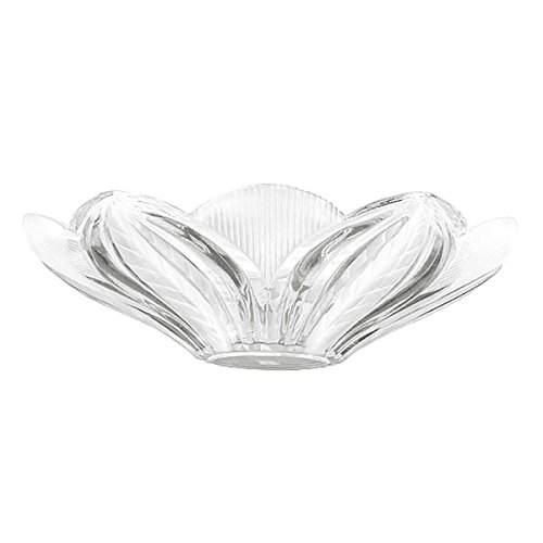 Lamp Shade Clear Glass Leaf Dome Shade | Renovator's (Leaf Dome)