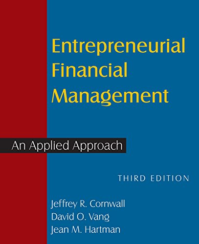 Download Entrepreneurial Financial Management: An Applied Approach Pdf