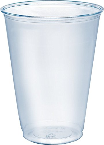 SOLO TP10D Ultra Clear PETE Cold Cup, 10 oz. Capacity, Clear