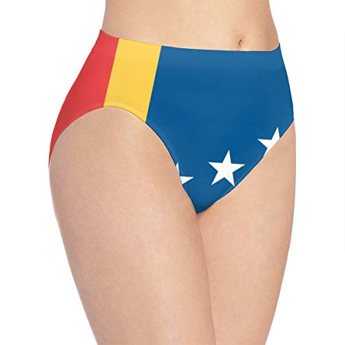 Flag of Durham Women's Briefs Hipster Seamless Soft Stretch - Panties Cotton/Polyester Fiber S White]()