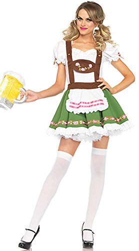 Women's Oktoberfest Costumes Beer Maid Cosplay Dress