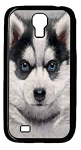 Cool Painting Samsung Galaxy I9500 Case, Samsung Galaxy I9500 Cases -Siberian Husky Puppy Polycarbonate Hard Case Back Cover for Samsung Galaxy S4/I9500