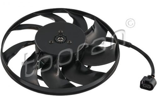 Engine Cooling Radiator Fan 300W Fits VW Multivan T5 Transporter Caravelle 2003-