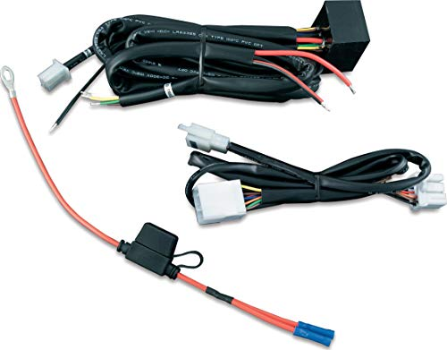 Kuryakyn 7672 Motorcycle Accessory: Plug & Play Trailer Wiring with Relay Harness for 1997-2013 Harley-Davidson Motorcycles