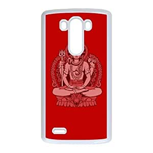 Lord Shiva LG G3 Cell Phone Case White HX4457126