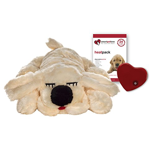 SmartPetLove Snuggle Puppy Behavioral Aid Toy, Golden