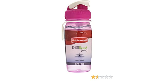Amazon.com: CHUG BOTTLE 140Z ASSRTD by Rubbermaid MfrPartNo 7M4000EDAY1: Kitchen & Dining