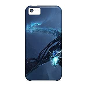 Awesome NJP16801FweG Carolcase168 Defender Hard Cases Covers For Iphone 5c- World Of Warcraft Dragon