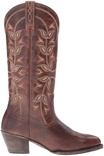 Ariat Kvinners Ørken Kristtorn Western Cowboy Boot Perle