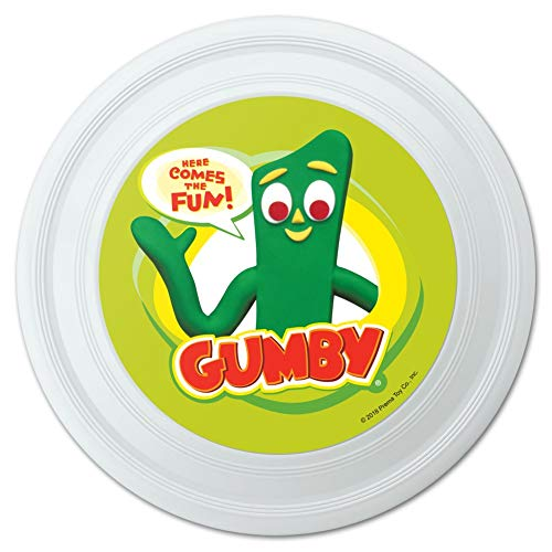 GRAPHICS & MORE Gumby Logo Here Comes The Fun Novelty 9
