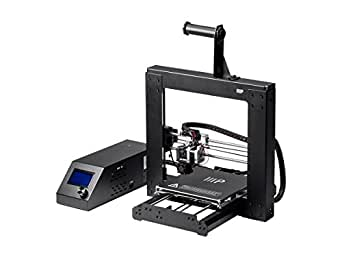"Monoprice Maker Select 3D Printer v2 with Large Heated 8"" x 8"" x 7"" Build Plate, Ready To Print, Sample PLA Filament, 4GB MicroSD Card Preloaded with printable 3D Models."