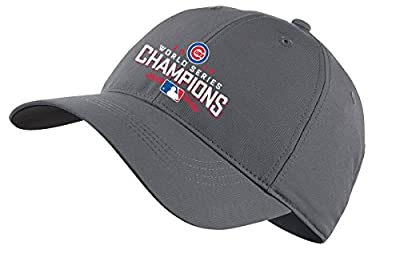 Nike Limited Edition MLB Chicago Cubs World Series Legacy 91 Tech Cap, One Size Fits All