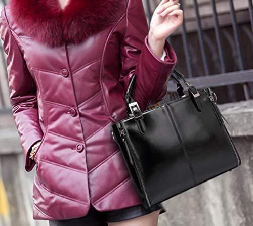 Black Inverno Borsa Moda Americana Donna Tracolla E Autunno Europea tq8X6wF8r