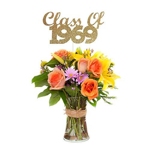 Class of 1969 Centerpiece Stick (Set of 3), 50th Class Reunion Centerpiece Stick -