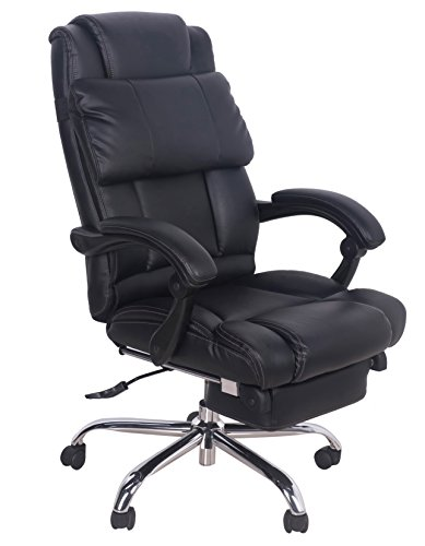 Merax New Office Lumbor Support Chair Pu Napping Chair Computer Gaming Chair (High Back 5)