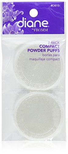 (Diane Compact Powder Puffs, 2 Count)