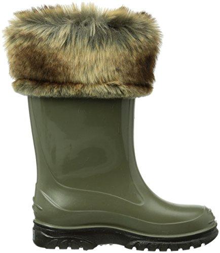 695 Vert Ricky Romika schwarz oliv Enfant Boots Mixte q7RwT0F