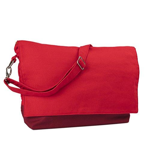 Yarn Pop Clutchable Knitting Bag - RED+RED by Yarn Pop