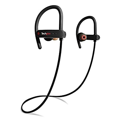 Bluetooth Headphones - Best Sport Earbuds 2018 - Wireless Sports Headphones w/ Microphone - IPX7 Waterproof Running Headphones - Sport Headphones - Workout Earbuds - Bluetooth Headphones for Women Men