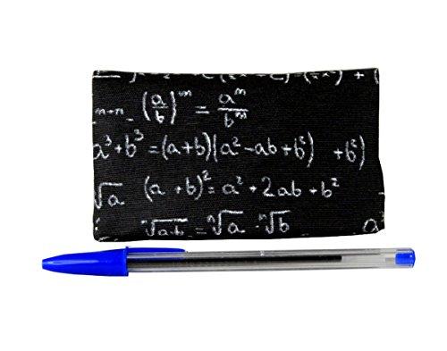 TABAKTASCHE Plan B Modell TwoDays Mathematik- Tasche für Drehtabak ideal für zwei Tage mit Modern Design und Fächern für Zigarettenfilter, Zigarettenpapier und Schnitttabak.