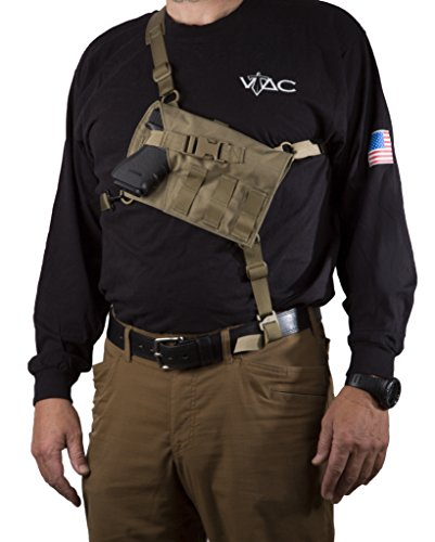 VTAC Big Rig Chest Holster (Auto) - (Coyote)