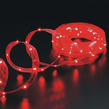 Cosmo Lighting 18ft Long LED Ribbon Lights 1.25 inch width 108 LEDs in Red & Amazon.com: Cosmo Lighting 18ft Long LED Ribbon Lights 1.25 inch ... azcodes.com