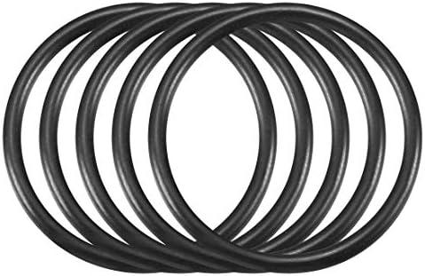 YeVhear 30 zwarte nitrilbutadieenrubber NBR Oring 22 mm diameter binnenkant 2 mm breedte