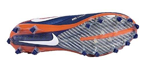 Nike Vapeur Intouchable 2 (taille 13 M Us) Marine Orange Blanc