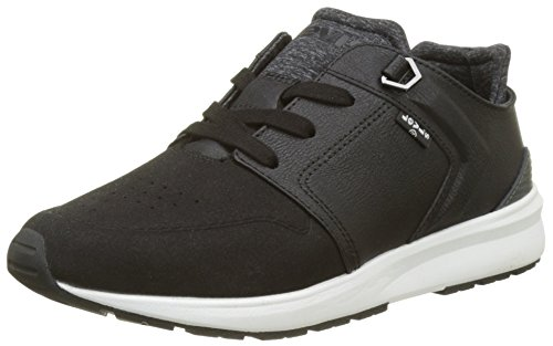 Levis Damen Black Tab Runner W Sneakers Schwarz (Noir Regular Black)