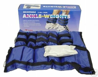 Ader Sporting Goods Ankle Wrist Weights Set (20 Lbs/Pair)