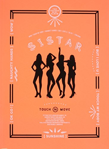 CD : Sistar - Touch & Move (Asia - Import)