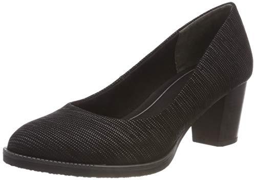Para 22402 2 Marco Negro Comb black Tozzi De 098 Tacón Mujer 2 098 Zapatos 21 aZazt