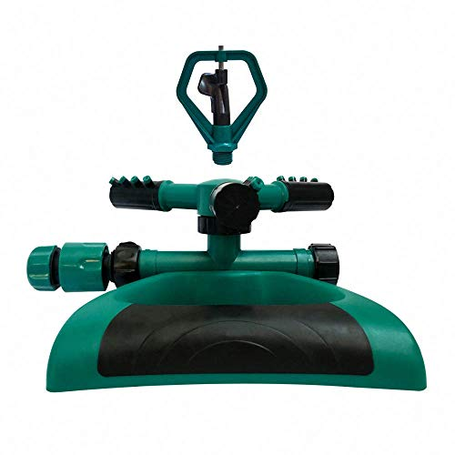 Growson Lawn Sprinkler,Garden 360°auto Rotary Sprinkler, Yard Butterfly Rotary Sprinkler System,Water Hose Quick Connector by Growson