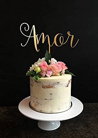 Amazon wedding cake topper amor cake topper rustic wedding wedding cake topper amor cake topper rustic wedding cake topper cake topper for junglespirit Gallery