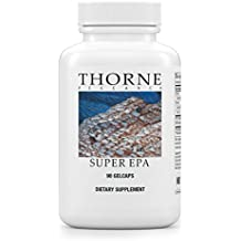 Thorne Research - Super EPA - Concentrated Omega-3 Fatty Acid Supplement - EPA/DHA - NSF Certified for Sport - 90 Gelcaps