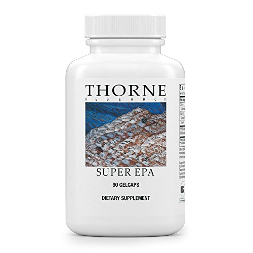 Thorne Research   Super Epa   Concentrated Omega 3 Fatty Acid Supplement   Epa Dha   Nsf Certified For Sport   90 Gelcaps
