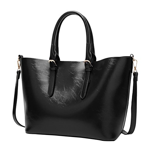 Yilianda Handbags Handbags Shoulder Bag Big Tote Bag Black Leather Shoulder Bag For Woman