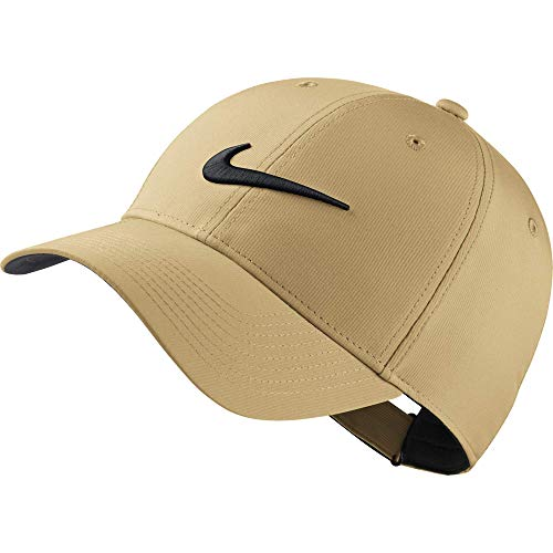 Nike Unisex Legacy Golf Cap, Adjustable & Lightweight Hat for Men and Women, Club Gold/Anthracite/Black