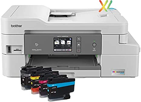 Brother INKvestmentTank Inkjet Printer, MFC-J995DW XL, Extended Print, Color All-in-One Printer, Mobile Printing Duplex Printing, up to 2-Years ...