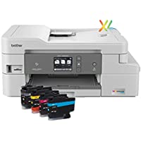 Brother MFC-J995DWXL Wireless Color Printer with Scanner, Copier & Fax