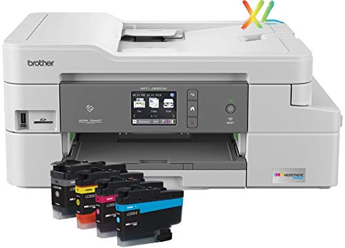 - Brother INKvestmentTank Inkjet Printer, MFC-J995DW XL, Extended Print, Color All-in-One Printer, Mobile Printing Duplex Printing, up to 2-Years Ink in-Box