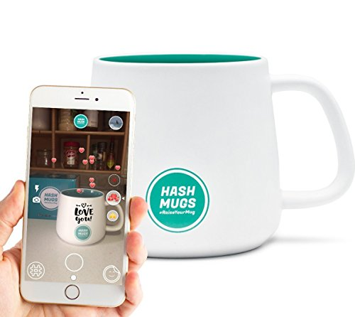 24-hour Sale! HashMugs - the World's First Personalized Augm