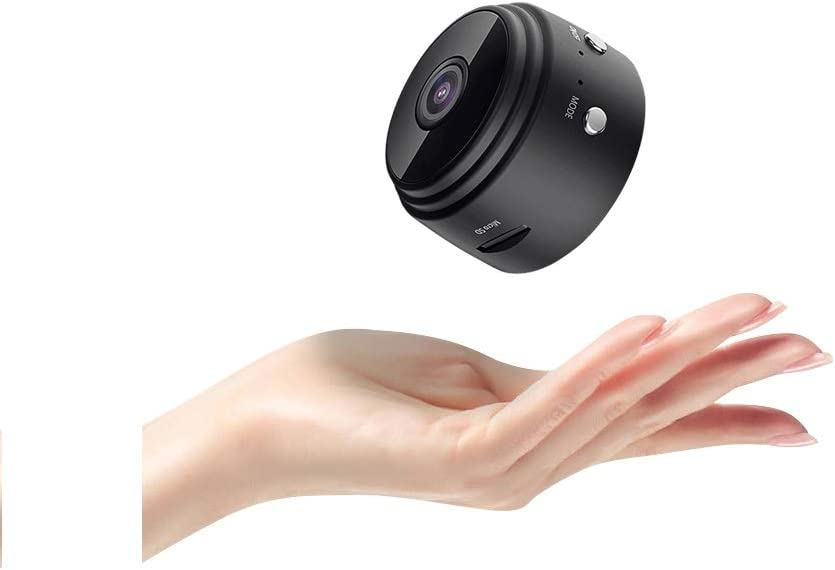Nanny cam with Audio and Video Recording | Nanny cams Wireless with Cell Phone app | Pet Camera | Dog Camera | Mini Camera | Wireless Camera | Indoor Camera with Phone app and Audio | Home Camera