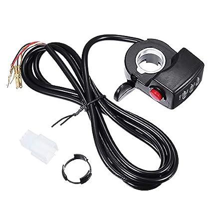 TENGGO 36V/48V Twist Acelerador Conjunto De Control De Pulgar para ...