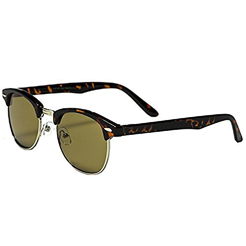 Mechaly Classic Sunglasses, Club Master Style, - Shades Master Club