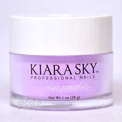 Lilac Powder - Kiara Sky Dip Dipping Powder D409 D'lilac 1 oz by Kiara Sky